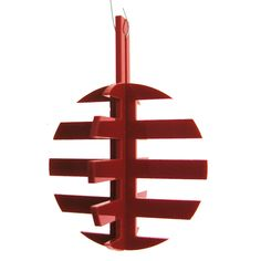 Acrylic Stripe Christmas ornament