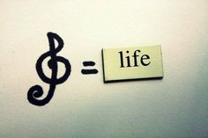 Music is Life  Life is Music  There cannot be one without the other