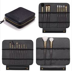 Smithfolio from Smith Cosmetics - I need this travel makeup brush binder!!!