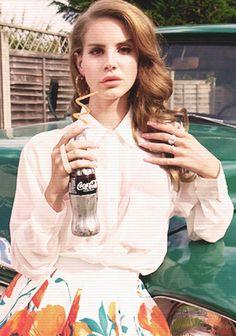 Lana Del Rey #destinationsummer #cocacola