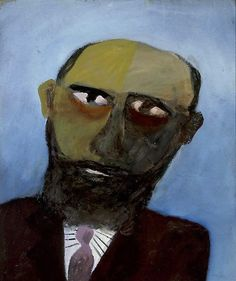 Nolan made several portraits of bushrangers and of an unmasked Ned Kelly. 'Colonial head' was painted as Nolan drew towards the end of his major Kelly seri. Australian Painting, Australian Artists, Sidney Nolan, Victoria Art, Ned Kelly, Aboriginal Art, Art Classroom, Culture, Life Drawing