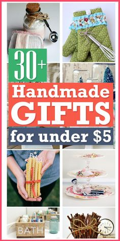 The best handmade gifts you can make in a budget.