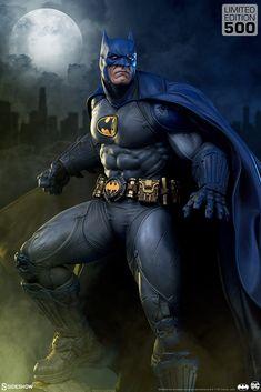 Batman: Modern Age Premium Format™ Figure | Sideshow Collectibles Dc Comics Collection, Bat Symbol, Batman Collectibles, Black Bat, Detective Comics, Batgirl, Dark Knight, Gotham, Statue