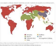 Itt a világ vallási térképe