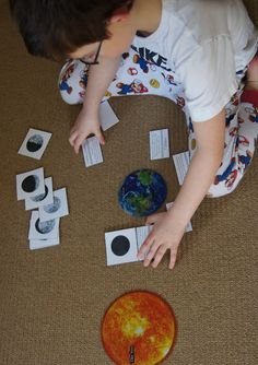 Montessori Inspired Space Exploration Unit from Making Montessori Ours