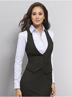 for work business fashion, business outfits, business attire, vest outfits for women, Business Outfits, Business Attire, Business Fashion, Western Outfits, Plaid Fashion, Work Fashion, Vest Outfits For Women, Clothes For Women, Black Vest Outfit