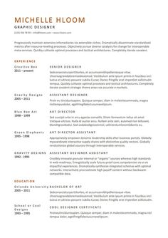 Here's a template to use when you want to get a lot wordier. | 21 Free Résumé Designs Every Job Hunter Needs