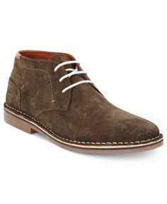 Kenneth Cole Reaction Men's Shoes, Real-Deal Suede Chukka Lace-Up Boots - All Men's Shoes - Men - Macy's
