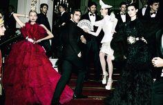 """Spanish Vogue Mario Testino """"lo mejor de España"""" December 2012 issue."""