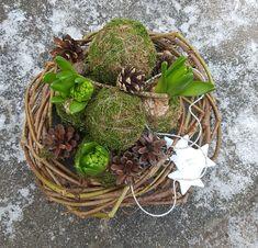 Juledekorasjoner med hovedvekt på naturmaterialer   SkarpiHagen