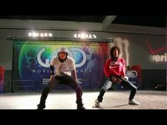 "Another favorite video of them.♥ They killed that song ""I've Been Shot"" Les Twins 