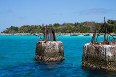Dominikánská republika - Modrá laguna by Ivana Piskáčková Water Crafts, Straw Bag, Coast, Ocean, Awesome, Nature, Bags, Outdoor, Handbags