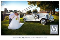 Craig & Ashleigh's wedding in Bristol, Somerset.  Seen here on a beautiful day by The Clifton Suspension Bridge.