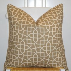 Decorative Pillow Cover  20 x 20  Designer by TurquoiseTumbleweed, $45.00