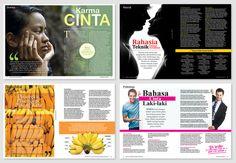 Magazine Layout by anomalisoul.deviantart.com on @deviantART