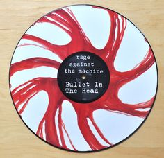 Rage Against The Machine - Bullet In The Head - Picture disc