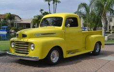 49 Ford F-1 #ClassicCars #CTins #Trucks