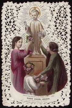 Paper Shrines: Child Jesus