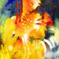 pinturas oleo modernas para sala bello