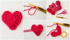 Kalp Motifi Aplike Yapımı. Tığ İşi Kalp Yapımı. Aplike Yapımı. Kalp Aplike Nasıl Yapılır. Elde Aplike Nasıl Yapılır. Örgü Motif Modelleri. Aplike Modelleri.