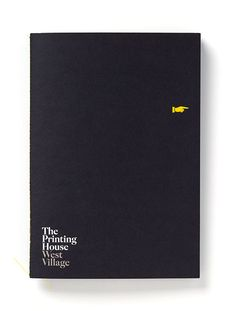 The Printing House - branding created by Pentagram for luxury lofts.  Love the use of the printer's fist icon