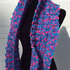 Handmade Accessories - ADDITIONAL PICS Reversible infinity scarf (Side 2)