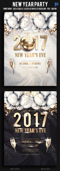new year eve 2019 flyer template psd new year party flyer