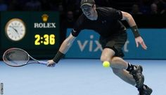 Andy Murray fought back to beat Kei Nishikori in a gruelling contest and close in on a semi-final place at the ATP World Tour Finals.  The world number one lost a tie-break but came through 6-7 (9-11) 6-4 6-4 against the Japanese fifth seed.