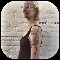 #BRÜCIUS #TATTOO #EUROPE #tour #SanFrancisco #brucius #natural #science #engraving #etching #sculptoroflines #dotwork #blackwork #penandink #lines #nature #Berlin #AKA #bday #magnolia #flower