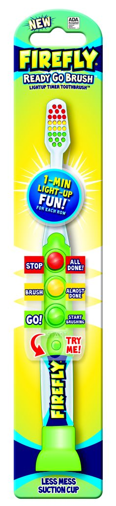 Firefly Ready Go Toothbrush - Light up timer toothbrush