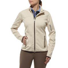 Ariat® Ladies Avalon Softshell Jacket Bone | Naylors.com