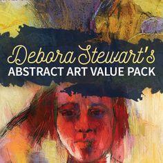 Debora Stewart's Abstract Art Value Pack | NorthLightShop.com