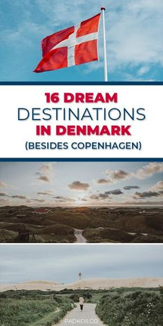 16 Dream Destinations in Denmark you need to visit, besides Copenhagen. Denmark has so many historic and beautiful places to go to. Copenhagen may be the main hub, but the rest of the country should be explored just as equally. From amazing sloping sand d Visit Denmark, Denmark Travel, Denmark Tourism, Copenhagen Travel, Copenhagen Denmark, Stockholm Sweden, Roadtrip, Travel Destinations, Denmark Destinations
