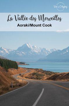 Au commencement, il y a cette eau. Si bleue, si limpide, si immobile. Un bleu presque lacté sous les rayons du soleil. Et puis il y a la terre. Rocheuse. Montagneuse. Éternellement enneigée au sommet. Le tout donnant vie à ce spectacle incroyable offert par la nature. Ce panorama exceptionnel dans lequel la nappe du lac Pukaki s'étend au cœur de la vallée formée par les plus hauts sommets du pays. Voici, sans conteste, la plus belle région de Nouvelle-Zélande. Immobile, Mount Cook, Nature Sauvage, Panorama, Spectacle, Plus Belle, Voici, New Zealand, Mountains