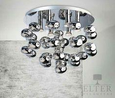 Lámpatípusok - Beltéri világítás - Mennyezeti lámpa - Azzardo Luvia mennyezeti…