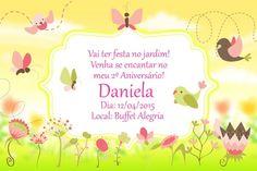 Convite digital personalizado Jardim Encantado 007