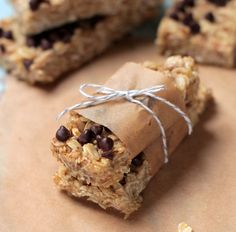 homemade No-Bake Granola Bars