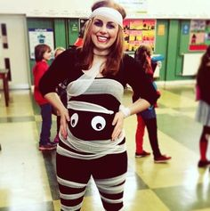 10 Halloween Costumes for Pregnant Women: #8. MUMMY TO BE