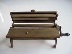Evans Patent Cigarette Making Machine