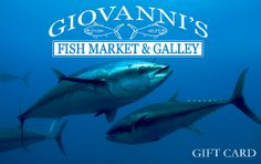 Seafood from Giovanni's Fish Market is like dining on the ocean floor - the fish is So Fresh you cannot believe it ever even left the ocean ... The BEST ever in all regards