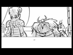 ▶ How to Train your Dragon 2 (Hiccup's new look and some story board preview) D: (Updated) - YouTube