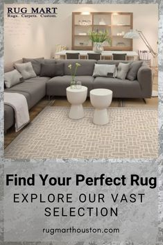 Visit Our Helpful Website to find your Perfect Rug. We Stock the Largest Selection of Fine Hand-knotted Rugs in Houston, Texas. We Want to Show you how you Can Save Time & Money While Rug Shopping, whether you are looking for an Oriental Rug, Modern Rug, or even a Custom Rug. We have the largest selection in one Place with Amazing Pricing. Explore our rugs today to find the best rug for your space. Large Living Room Rugs, Home Living Room, Living Room Decor, Home Reno, Oriental Rug, Home Hacks, Rugs On Carpet, Farmhouse Decor, Home Remodeling