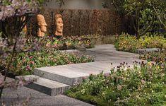 Giardina Gold Award Gewinner, Trüb für Grün AG in Horgen, Ursina Luzi, Gartenplanung, Garten Stepping Stones, Outdoor Decor, Staircases, Garden Planning, Stair Risers