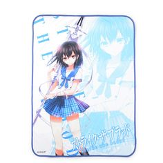 Strike the Blood Blanket- From the light novel, manga and anime series Strike the Blood comes this special blanket of the heroine herself, Yukina Himeragi! Featuring illustrator Manyako's cover art for Volume 35 of Dengeki Bunko Magazine, this blanket is sure to keep you warm while Yukina keeps you company!
