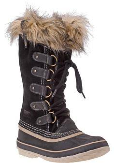 Sorel - Joan of Arctic Boot Black Suede - Jildor Shoes
