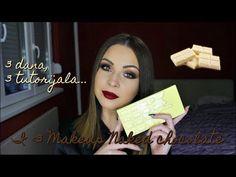 """MAKEUP TUTORIAL: I Heart Makeup """"Naked Chocolate"""" paleta – Makeup Project"""