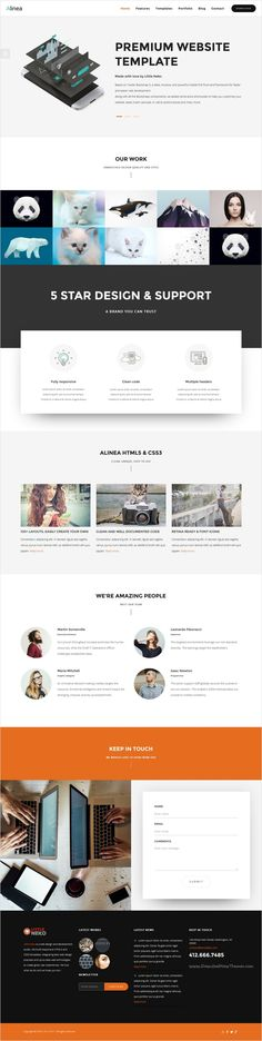 Alinea is elegant, robust & flexible design premium #Bootstrap HTML #theme for stunning #webdevelopment websites with 19+ multipurpose homepage layouts download now➩ https://themeforest.net/item/alinea-business-website-template/17110771?ref=Datasata