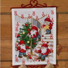 Gallery.ru / Лена Ленацилих Cross Stitch Patterns, Advent Calendar, Holiday Decor, Christmas, Home Decor, Design, Russia, Butterfly, Vegan