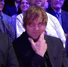 Dean Ambrose at WWEHOF April 2 2016 << I AM DYING. DEAN IS KILLING ME WITH HIS SEXINESS!!