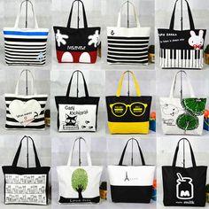 New Fashion Women Lady Canvas Handbag Shoulder Beach Bag Shopping Tote Satchel #Unbranded #TotesShoppers